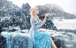 超像!真人版《冰雪奇緣》艾莎公主