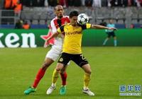 足球——歐冠:多特蒙德不敵摩納哥