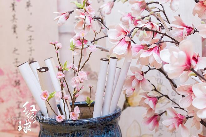 成都婚禮丨淡雅粉色中式婚禮