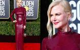 第76屆金球獎紅毯女星們的禮服大PK,簡直比國內女星還拼,驚豔了