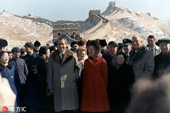 特朗普即將訪華 回顧歷任美國總統夫婦中國行