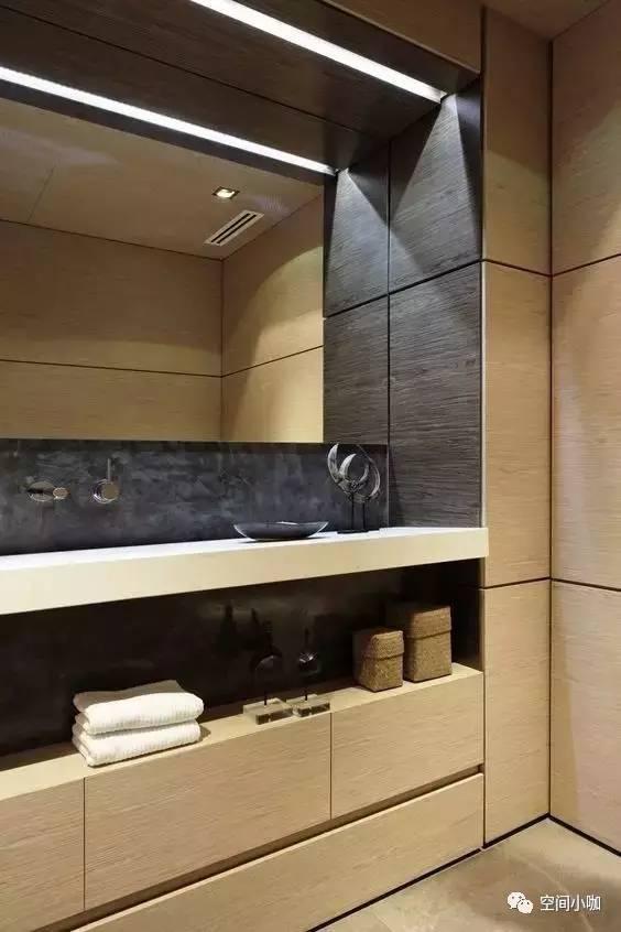 洗手檯都這麼酷,有錢人真會玩啊!