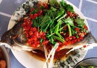 家庭版的剁椒魚頭這麼做,一口氣能吃兩碗飯,保證你湯汁都舔光