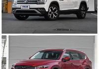 途昂,沃爾沃xc60,斯巴魯傲虎,漢蘭達,馬自達CX-8,排除價格因素,該怎麼選?