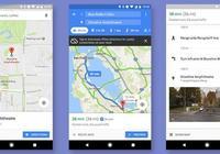 Google地圖更新,在規劃線路的時候即可獲得街景視圖