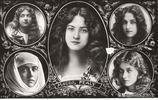 上世紀初的美國女演員 那時候的古典美女 看看到底多美