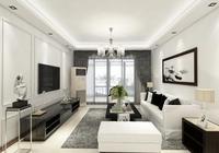 肇慶裝修|簡單黑白灰,打造不一樣家裝空間!