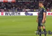 塞爾維亞1-1威爾士,拉姆塞勺子點球