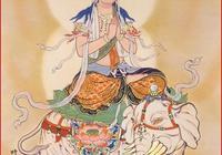 記住了,騎大象的這位尊者叫普賢菩薩:南無大行普賢菩薩