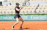 2019年法國巴黎網球公開賽的四分之一決賽期間的網球明星們