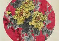 凡是花鳥畫家,沒有不畫牡丹的,他畫的牡丹墨色潤澤惹人愛