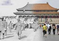 古建築與現代建築同一場景見證了歷史就是褪色的記憶