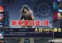 《王者榮耀》馬超上線時間公佈,六位新英雄確定,首個100%暴擊英雄囚徒來襲,你怎麼看?