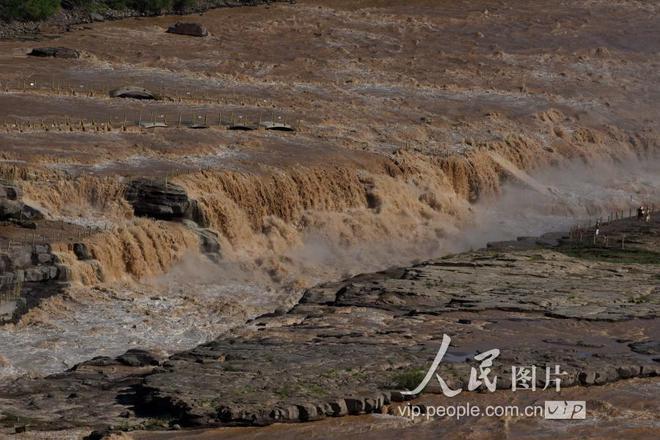 黃河干流進入汛期 壺口瀑布再現特大瀑布群景觀