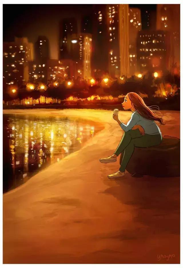 暖心漫畫:女生一個人也可以很幸福