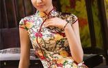 旗袍被譽為中國國粹和女性國服,將優雅與性感完美結合