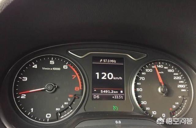 如果手動擋轎車以4擋每小時100-120的速度行駛了十公里左右,會怎麼樣?