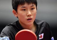 2017年國際乒聯世界巡迴賽日本公開賽,張本智和江宏傑亮相