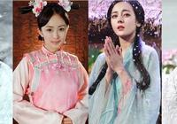 中國古裝四美,劉亦菲楊冪迪麗熱巴張儷你喜歡誰?