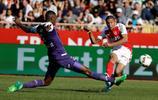 足球——法甲聯賽:摩納哥勝圖盧茲