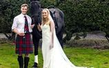別樣的婚禮,馬術冠軍的馬上婚禮