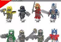 LEGO樂高式拼裝人仔 品高 PG8215 變形金剛人仔系列
