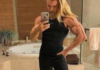 自然健身23年的霸氣肌肉男,現在體脂率低可怕只剩3%