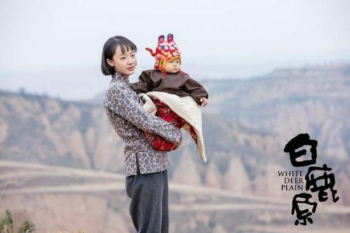 白鹿原孫銥飾演白靈
