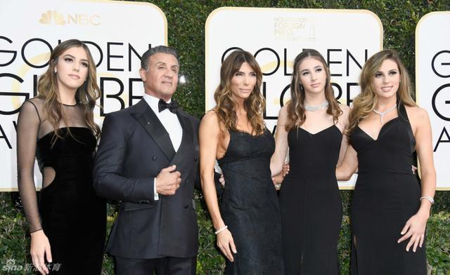 看史泰龍三公主、泰森三女兒,便知為何史泰龍是影帝泰森是拳王!