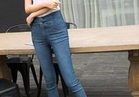 牛仔褲的狂熱性感,在女士中綻放青春魅力,猶如天外飛仙