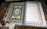 """埃及老人展示世界""""最大""""古蘭經 全長700米"""