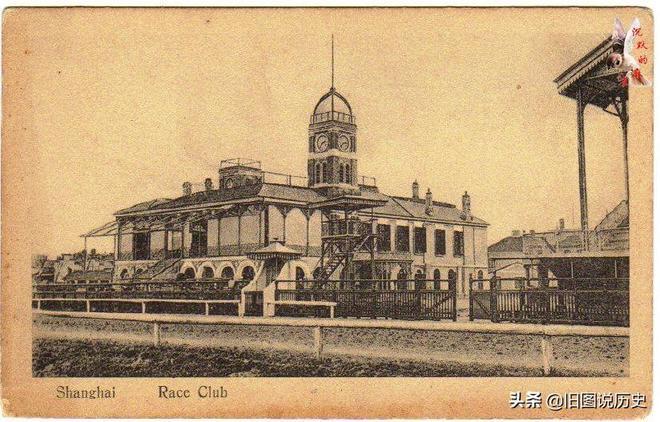 1900年代 上海的明信片