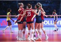 大逆轉!美國女排險勝巴西隊 衛冕世界女排聯賽總決賽冠軍