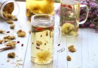 荷葉枸杞菊花茶的做法