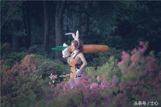 王者榮耀兔女郎花木蘭