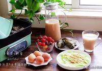 端午節前後的家常早餐,粽子吃了好幾天,八天早餐各不同,您看看