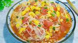 酸爽開胃的番茄濃湯雞蛋麵,營養美味,百吃不厭,做法超簡單