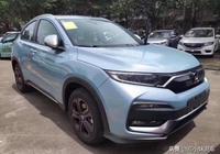 它是合資小型SUV中的銷量冠軍,2019款本田XR-V亮相,藍色很個性