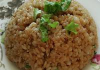 蝦皮醬油炒飯