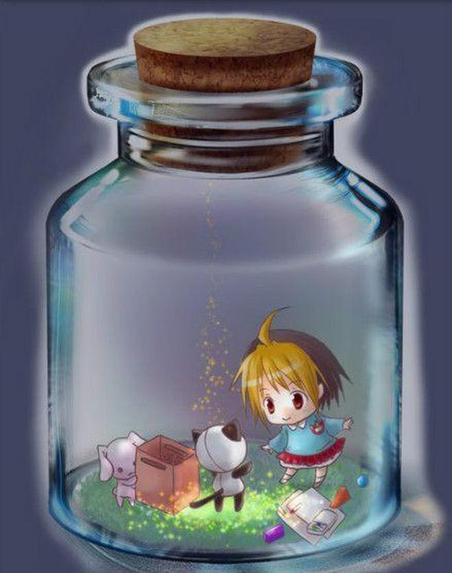 動漫圖集:瓶子裡的動漫世界