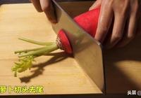醃蘿蔔最快速的方法,2個小時就好,酸脆爽口,放7天都不壞