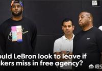 洛杉磯時報記者稱:若湖人今夏引援失敗,詹姆斯有可能提出離隊,你怎麼評價?