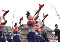 貴州蘆笙舞高手丹寨競技