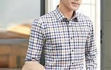 成功男士別再穿T恤了,這樣的格子襯衫更適合你
