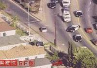死神筆記:車輛失控衝向人群,男子被撞六層樓高,太慘了