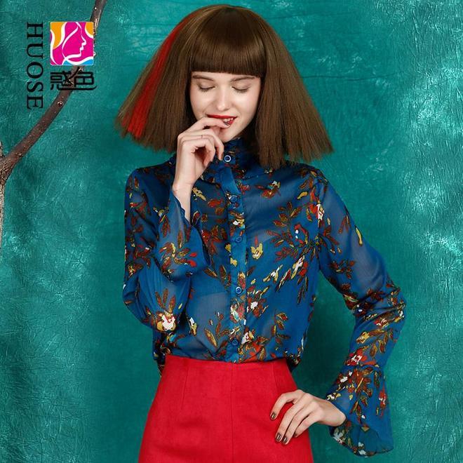 打著燈籠都難找,10款超美秋季長袖蕾絲雪紡衫,穿著不美你來找我