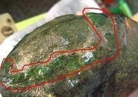 燕子民高端翡翠實戰教學之瞭解翡翠原石皮殼的松花,想不漲都難!