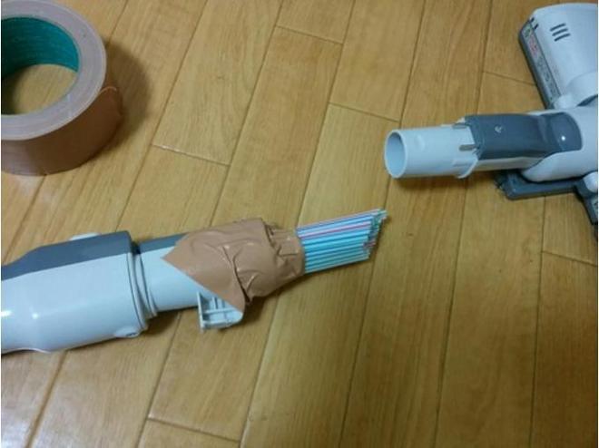 飲用管裝在吸塵器上,看了認為自己一直都用錯吸塵器