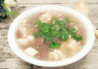豆腐牛肉湯