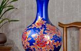 挺大氣的陶瓷花瓶,擺放在家裡,能多添幾分貴氣與文人氣息